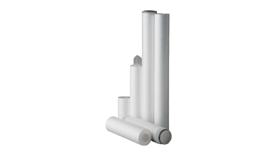 Melt blown sediment filter cartridges