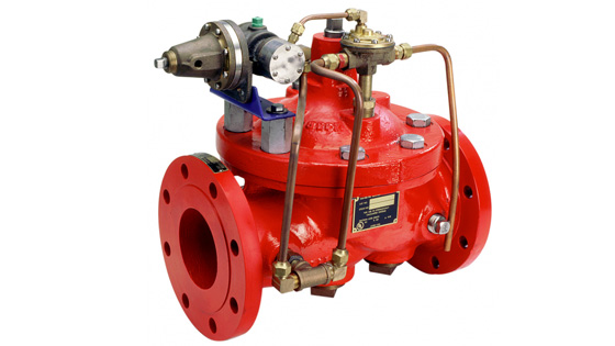 414-01 Pneumatically Operated Remote Control Valve