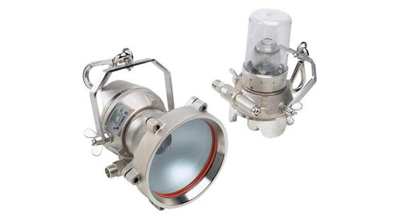 Luminária pneumática a ar comprimido ATEX Turbolite
