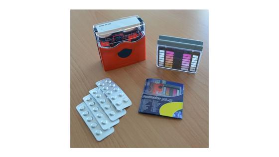 Basic sewage test kit