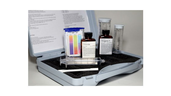 Boiler water test kit