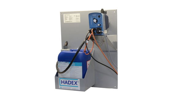 Chlorinating Hadex dosing units (HDU)