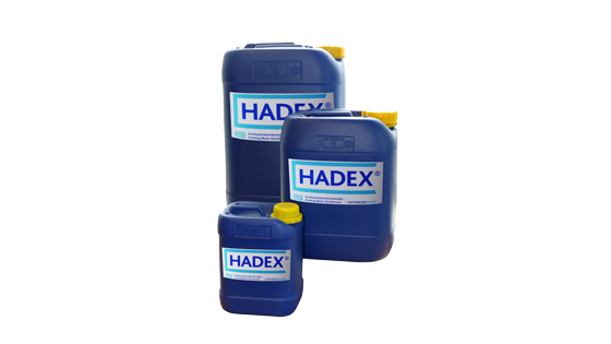 Hadex water treatment